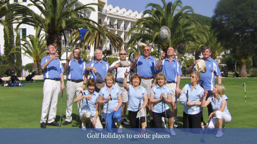 Golf Holidays to Exotic Places