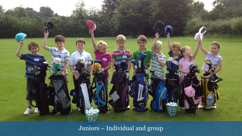 Juniors - Individual and Group