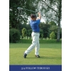 golf swing 3/4 follow through
